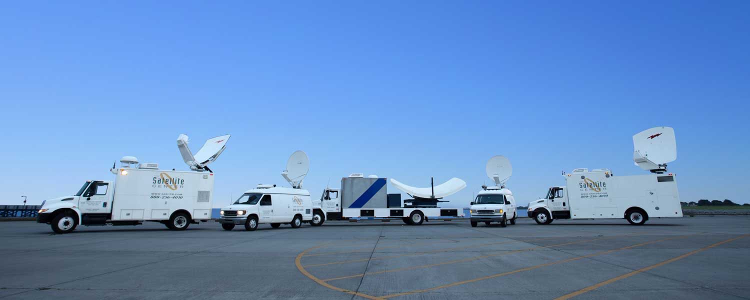 Satellite Uplink Trucks