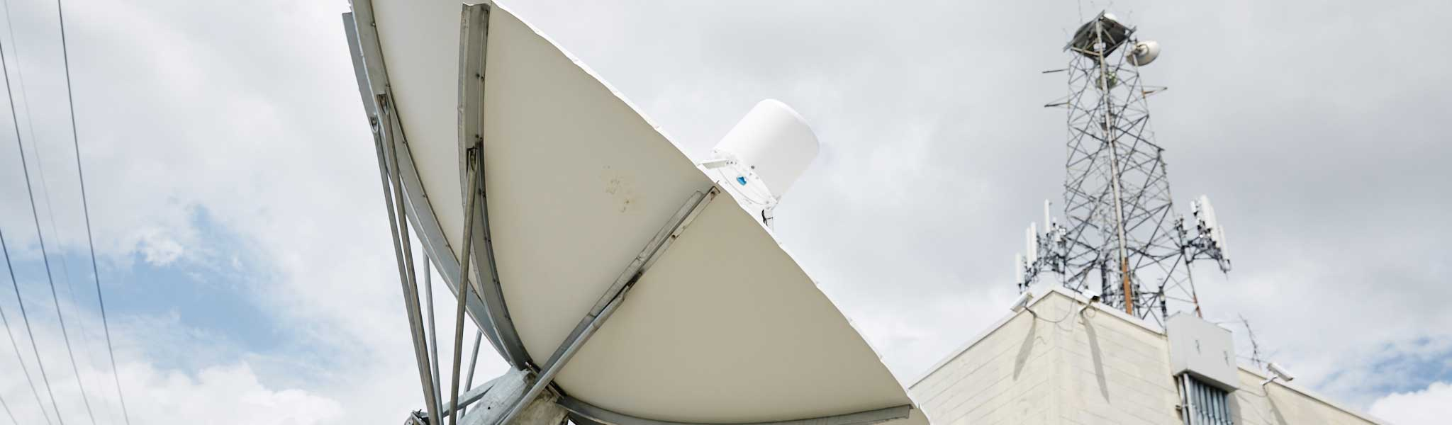 Commercial Satellite Dish