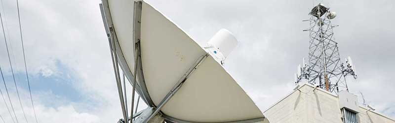 Commercial Satellite Dish Installations
