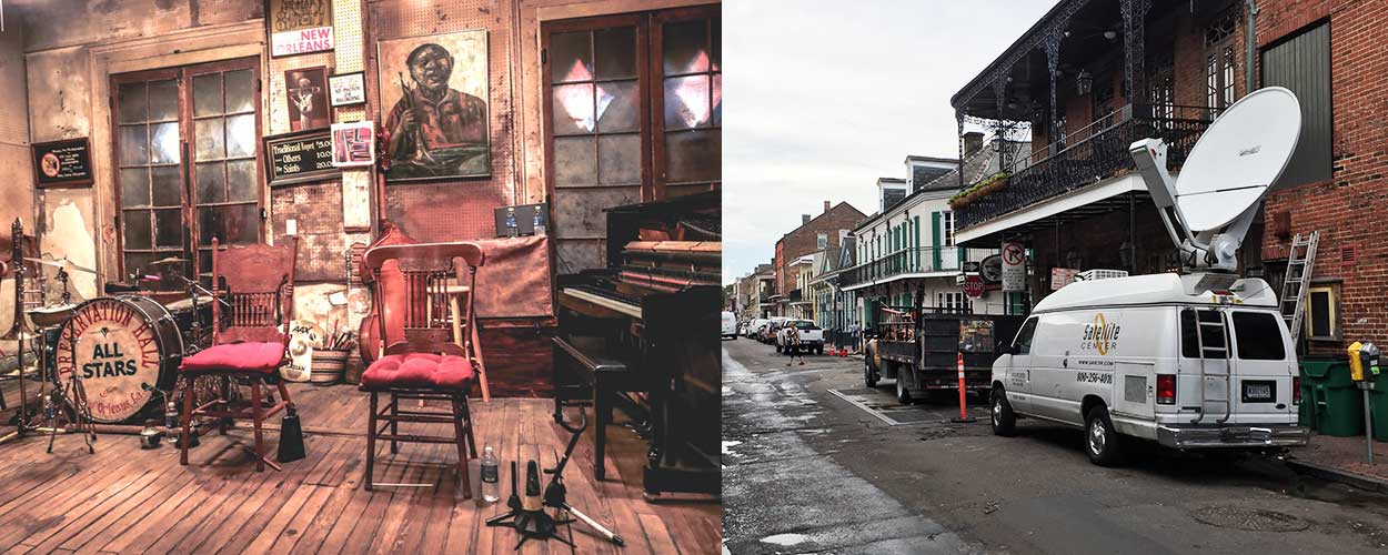 SATCTR at work at the New Orleans Preservation Hall